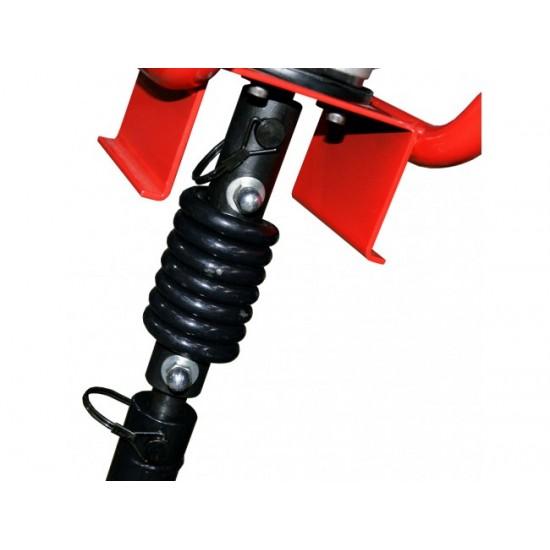Motoburghiu de pamant Rotakt MTBG250/805 + Kit burghiu 100 mm si 200 mm si cuplaj elastic